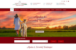 Website Neustart