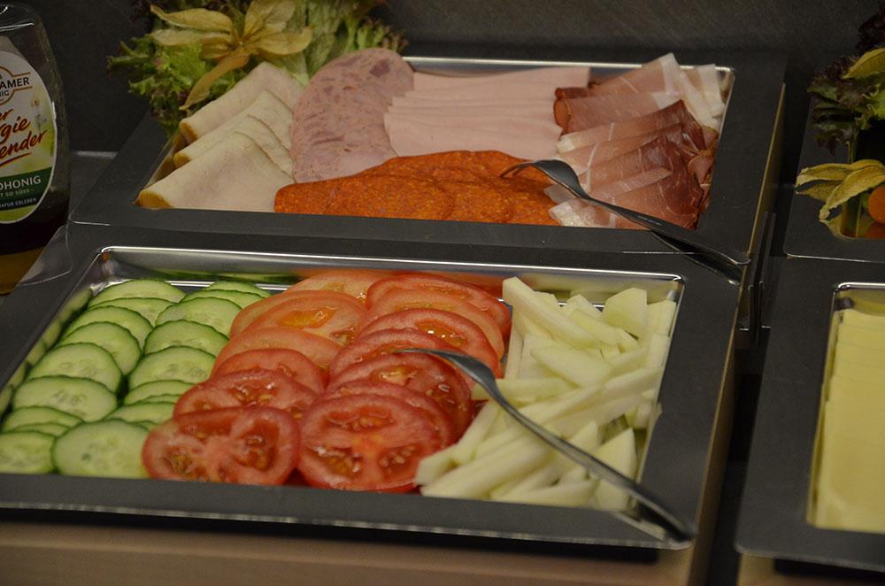 Frühstücksbuffet bei Neukämper